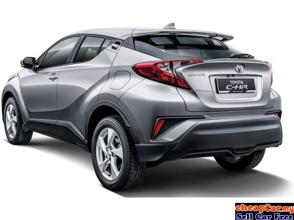 2018 Toyota C-HR 1.8(A)-Great Rebate+FREE Service(NEW) Putrajaya Putrajaya | CheapCar.my