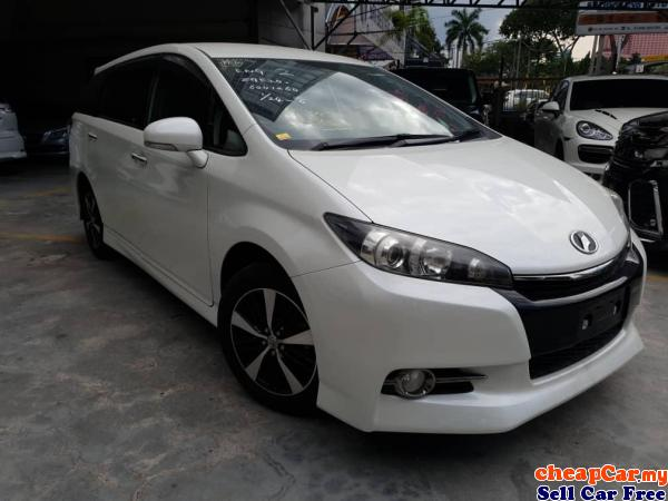 Toyota Wish 1.8 MONOTONE S Package Unregistered High Loan City Center Kuala Lumpur | CheapCar.my
