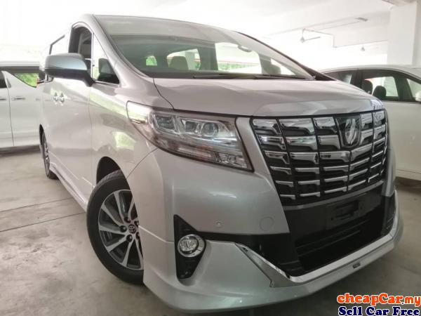 UNREGISTER,Toyota Alphard 3.5 GF AUTO WEL CHAIR,SUNROOF,JBL SOUND SYSTEM,360 SURROUND CAMERA,PRE CRA Cheras Kuala Lumpur | CheapCar.my
