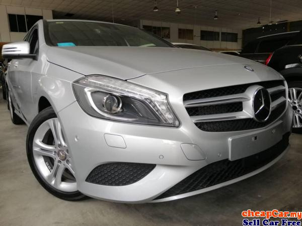 PRICE CAN NEGO,HAVE 5 UNIT Mercedes-Benz A180 1.6 JAPAN SPEC,CRAZY PRICE DONT MISS OUT!!! Cheras Kuala Lumpur | CheapCar.my