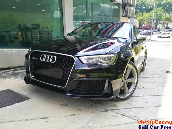 UNREGISTER Audi RS3 2.5 Sportback , BANG N OLUFSEN SOUND SYSTEM , ELECTRONIC LEATHER SEAT , NEW STOC Cheras Kuala Lumpur | CheapCar.my
