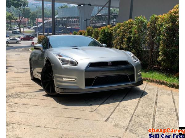 PRICE CAN NEGO!!! UNREGISTER!!! Nissan GT-R 3.8 Black Edition Coupe , RECARO FRONT BUCKET SEAT , BOS Cheras Kuala Lumpur | CheapCar.my