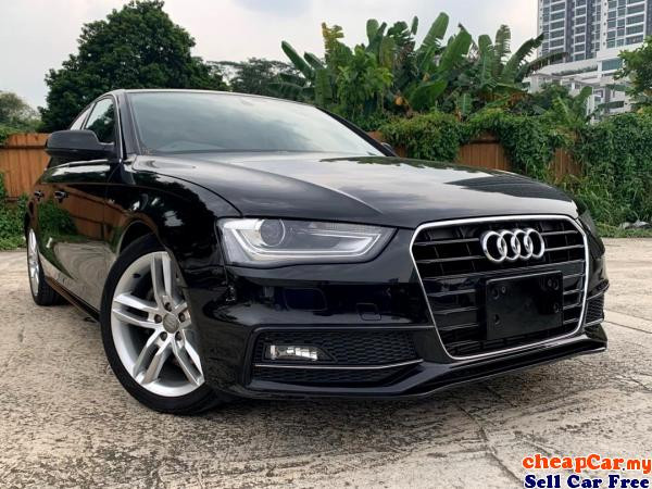 PRICE CAN NEGO!!! NEW STOCK!!! UNREGISTER Audi A4 2.0 TFSI Quattro S Line Sedan , CRAZY PRICE DONT M Cheras Kuala Lumpur | CheapCar.my