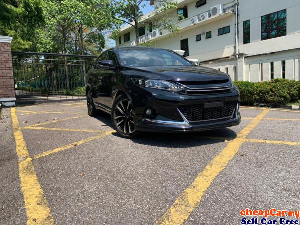 HAVE 2 UNIT!!! GS SPORT Toyota Harrier 2.0 SUV UNREGISTER!!! ALPINE DVD PLAYER , ALCANTARA SEAT , GS Cheras Kuala Lumpur | CheapCar.my