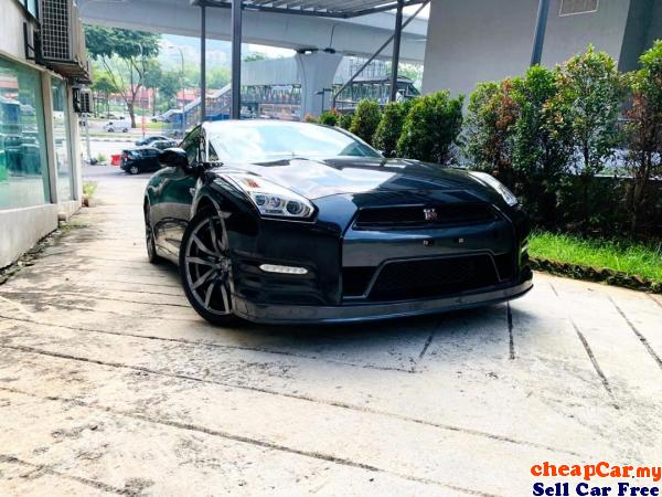 HAVE 2 UNIT!!! R35 UNREGISTER!!! Nissan GT-R 3.8 JAPAN SPEC , NEW STOCK!!! PRICE CAN NEGO!!! Cheras Kuala Lumpur | CheapCar.my