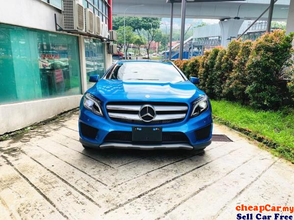 PRICE CAN NEGO!!! UNREGISTER!!! Mercedes-Benz GLA180 1.6 AMG SUV , DRIVE SIDE WITH ELECTRONIC MEMORY Cheras Kuala Lumpur | CheapCar.my
