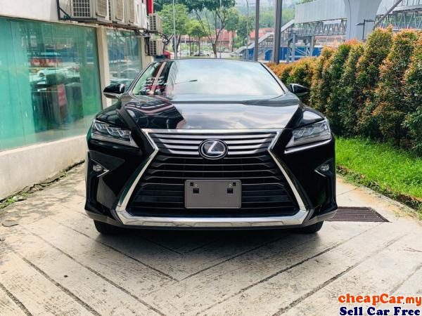 UNREG Lexus RX200t 2.0 Luxury , 2 TONE COLOUR INTERIOR , POWER BOOT , PRE-CRASH , LANE ASSIST , NEW  Cheras Kuala Lumpur | CheapCar.my