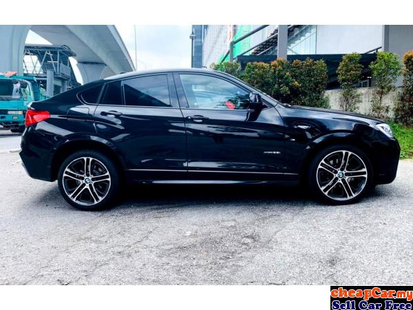 HAVE 4 UNIT!!! UNREGISTER BMW X4 2.0 xDrive28i M Sport SUV , BLACK COLOUR INTERIOR , PRICE CAN NEGO! Cheras Kuala Lumpur | CheapCar.my
