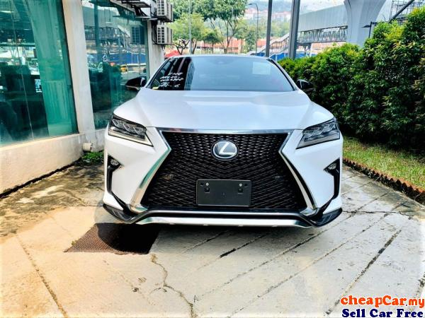 NEW STOCK!!! UNREGISTER Lexus RX200t 2.0 F Sport , SUNROOF , HUD , DIGITAL METER , POWER BOOT , PRIC Cheras Kuala Lumpur | CheapCar.my