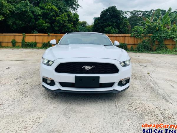 NEW STOCK!!! UNREGISTER Ford Mustang 2.3 Coupe , PRICE CAN NEGO!!! DONT MISS OUT!!! Cheras Kuala Lumpur | CheapCar.my