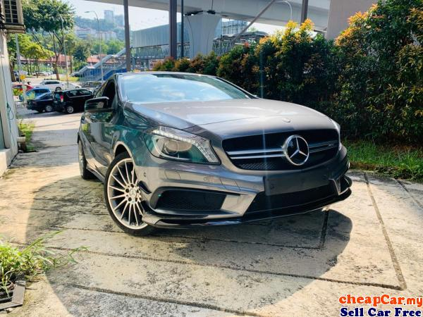 HAVE 2 UNIT UNREGISTER Mercedes-Benz A45 AMG 2.0 4MATIC Hatchback , NEW STOCK , PRICE CAN NEGO!!! Cheras Kuala Lumpur   CheapCar.my
