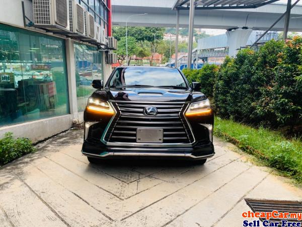 COOL BOX,R/R ENTERTAIMENT,MARK LEVINSON,SURROUR CAM,HUD,FULL MODELISTA BODYKIT,SUNROOF,Lexus LX570 5 Cheras Kuala Lumpur | CheapCar.my