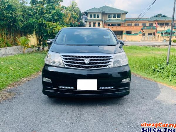 NEW STOCK , BELOW MARKET PRICE , FIRST COME FIRST SERVE!!! 8 SEATER Toyota Alphard 2.4 G MPV , NEW F Cheras Kuala Lumpur | CheapCar.my