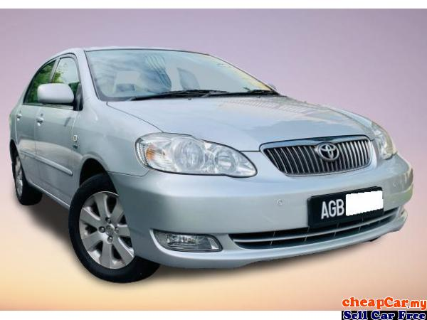 MANUFACTURED 2007 YEAR , FULL LEATHER SEAT , NEW FACELIFT , TOYOTA COROLLA ALTIS 1.6 AUTO , NEW STOC Cheras Kuala Lumpur | CheapCar.my