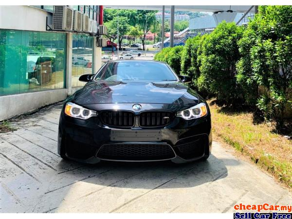 PRICE INCLUDING SST!!! HARMON KARDON SOUND SYSTEM , (HUD) HEAD UP DISPLAY , BMW M4 3.0 Coupe M-PERFO Cheras Kuala Lumpur | CheapCar.my