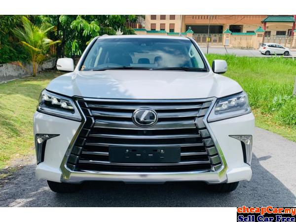 COOL BOX,REAR ENTERTAIMENT,MARK LEVINSON,SURROUNDER CAMERA,HUD,S/ROOF,UNREG Lexus LX570 5.7 SUV,NEW  Cheras Kuala Lumpur | CheapCar.my