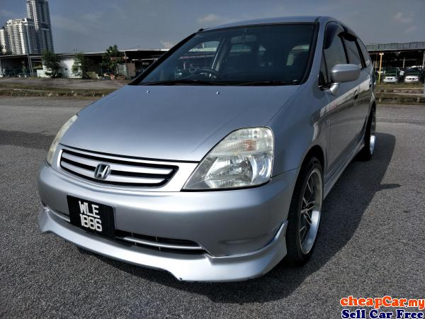 2003 HONDA STREAM 1.7 (A) 7 SEATED, 18 INCI SPORT RIM (PERFECT CONDITION) Serdang Selangor | CheapCar.my