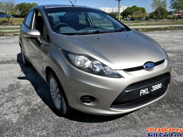 2011/12 FORD FIESTA 1.6 SEDAN (A) GOOD CONDITION SAVE PETROL Serdang Selangor | CheapCar.my