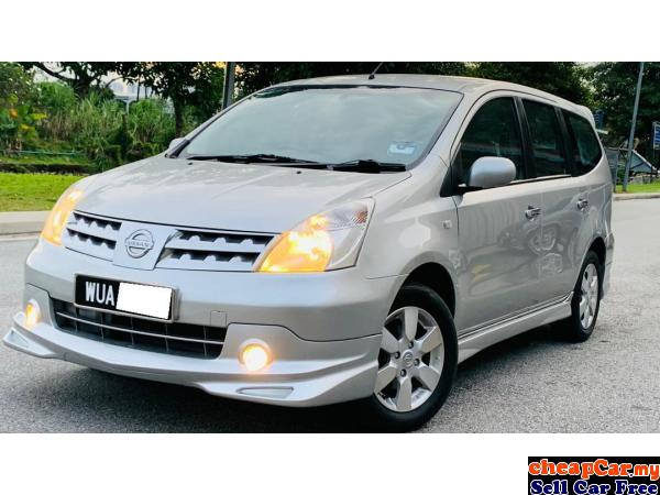 FULL LEATHER SEAT,FULL IMPUL BODYKIT,WOOD GRAIN,ACTUAL YEAR 2010,Nissan Grand Livina 1.8 Impul MPV,N Cheras Kuala Lumpur | CheapCar.my