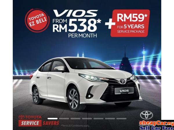 2021 Toyota Vios 1.5(A)-NEW FACELIFT,CNY GREAT PROMO Puchong Selangor | CheapCar.my