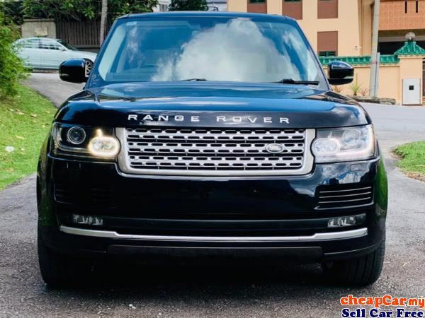 NEW STOCK,UNREG Land Rover Range Rover 4.4 Vogue SDV8 SUV,C/BOX,P/ROOF,MERIDIAN,AIR SUSPENSION,ECO Cheras Kuala Lumpur | CheapCar.my