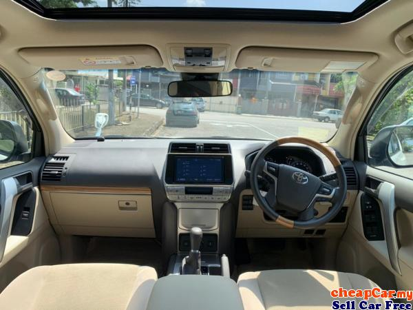 PRE-COLLISION SYSTEM , LANE DEOARTURE ALERT , SUNROOF , UNREGISTER Toyota Land Cruiser Prado 2.7 TX  Cheras Kuala Lumpur | CheapCar.my