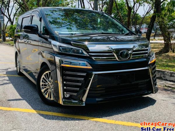UNREGISTER 2018 YEAR Toyota Vellfire 2.5 Z A Edition MPV , 7 SEATER , 2 POWER DOOR , NEW STOCK Cheras Kuala Lumpur | CheapCar.my