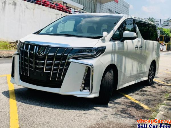 MILEAGE ONLY 18++,UNREG Toyota Alphard 2.5 SC MPV, PILOT SEAT, SUNROOF, LIKE NEW, MORE THAN 60 UNIT  Cheras Kuala Lumpur | CheapCar.my