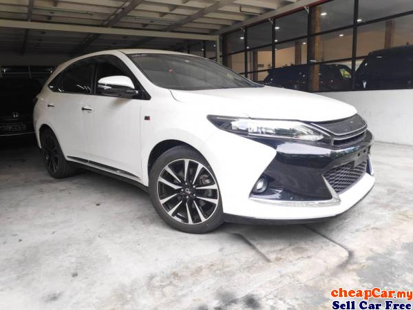 ACIK Recon Unreg 2017 TOYOTA HARRIER 2.0 GS Original City Center Kuala Lumpur | CheapCar.my