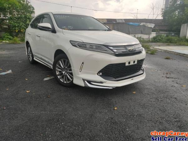 2018 Toyota Harrier 2.0 TURBO Premium/LIMITED STOCK /CHEAPEST IN THE TOWN /OFFER Cheras Kuala Lumpur | CheapCar.my